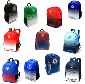 1b89eec54e Image is loading Football-Backpack-School-Bag-Rucksack-Manchester-United- Barcelona-