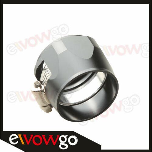 24AN AN24 AN 24 HEX Finisher Adaptor Fuel Hose Clamp Aluminum Black