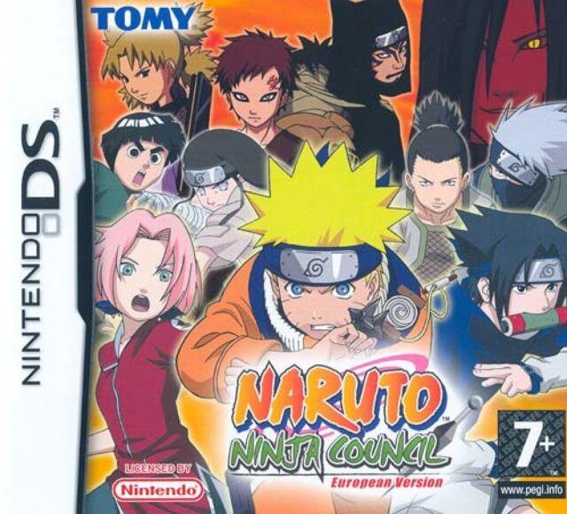Naruto - Ninja Council - European Version (ITA) NDS - totalmente in italiano