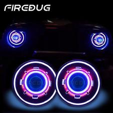 "7"" HID Projector Headlights with Halo,  Demon Eye Headlight,Angel Eye all in one"