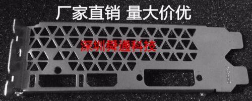 IO shield Blende GTX1050-2GD5 video card  #G6395 XH