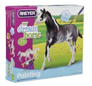 Breyer-Activity-Set-4114-Pferdemalset-Araber-Vollblut-2-Paddock-Pals-Pferde