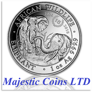 2018-Somalia-1-oz-Silver-Elephant-15th-Anniversary-Coin