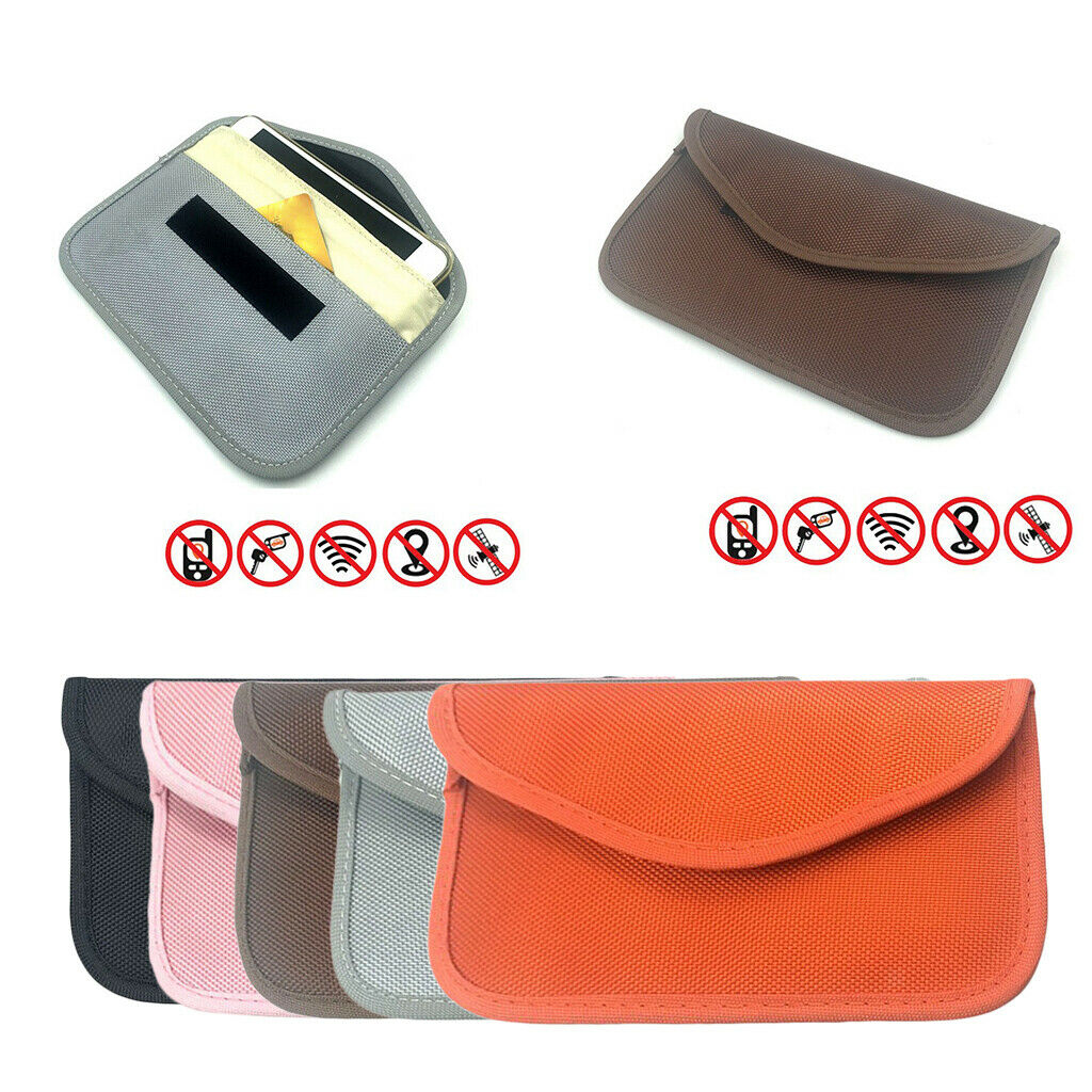 1pc Signal Blocking Bag Shielding Case for Cell Phone, GPS, RFID,Car Key FOB,EMF
