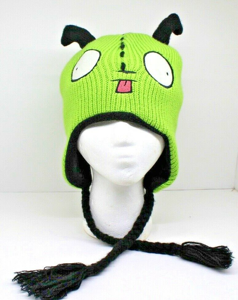 Hot Topic Invader Zim Gir Winter Hat Rare