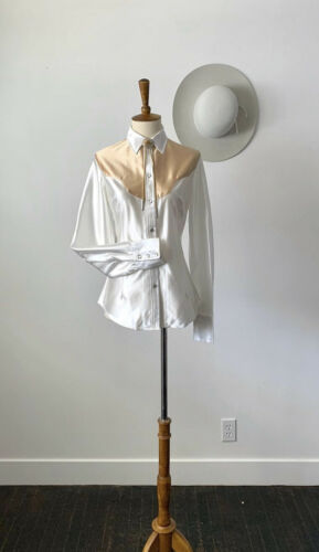Vintage Western Shirt - Womens - H Bar C