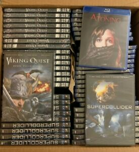 Atoning-Viking-Quest-and-Supercollider-DVD-LOT-54-movies-SEALED-NEW