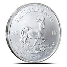 Pre-Sale! 2018 South Africa 1 oz .999 Fine Silver Bullion Krugerrand Coin Gem BU