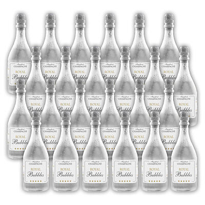 24er Set Seifenblasen Champagner Flasche - Wedding Bubbles Seifenblasenflaschen