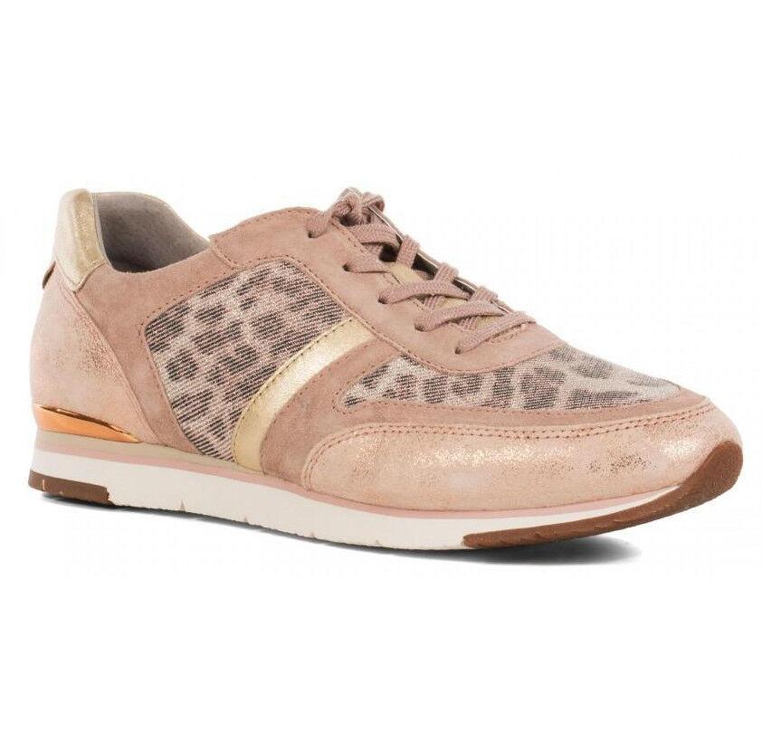 Gabor 44.321.43 [/40/41/41,5/42] señora para zapatillas de cuero rosa nuevo