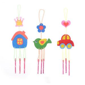 Kids-DIY-Puzzle-Toys-for-Kids-Wind-Chime-Manual-Crafts-Hanging-Kit-Toy-RandomSEA