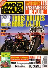 MOTO REVUE 3164 HONDA CBR 900 RR ROCA WINNERS ; DUCATI 916 YAMAHA XV 1100 Virago
