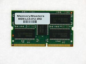 Mem-lc4-512 512mb Mémoire Pour Cisco 12000 Ligne Carte 4