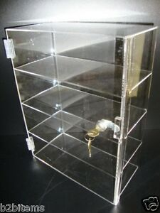 DS-Acrylic-Countertop-Display-12-034-x-7-034-x-16-034-Locking-Security-Showcase-CUPCAKE