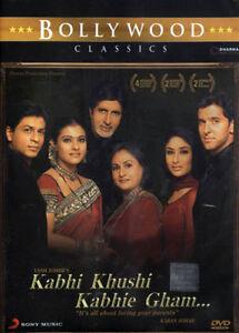 Kabhi Khushi Kabhie Gham K3G - Original DVD - Shahrukh ...
