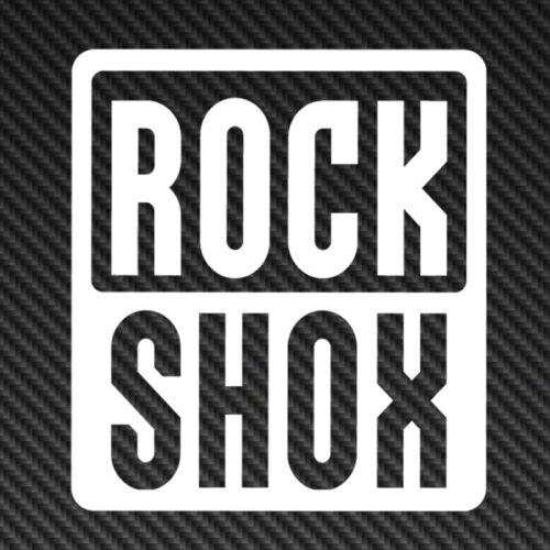 RockShox Rock Shox logo Vinyl Sticker Decal Car Window Mountain Bike mtb