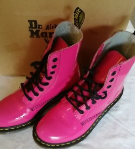 Pink-clemencia-patente-Dr-Martens-Dm-Talla-5-Nuevo
