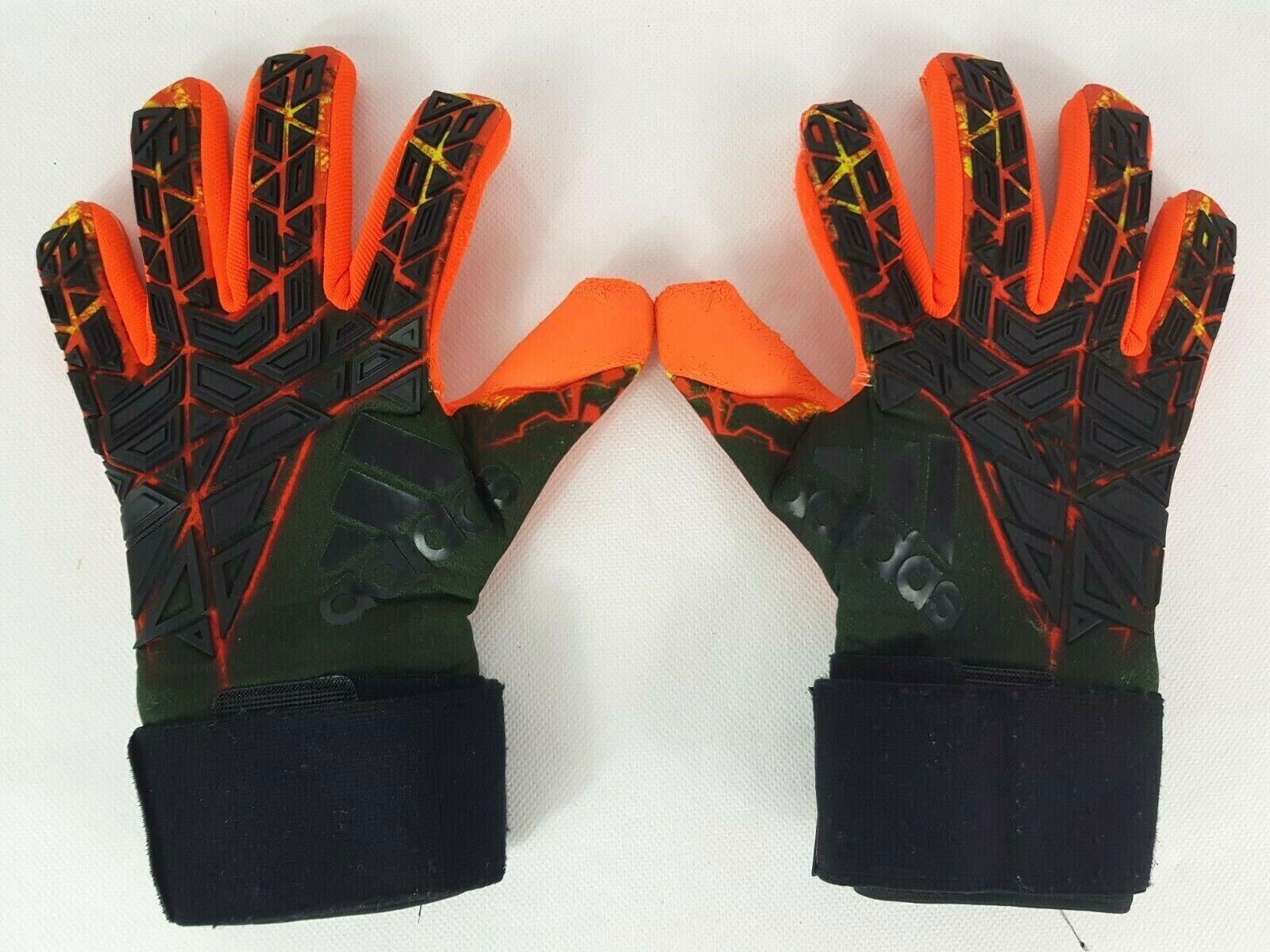 presentación Tremendo Astronave  adidas Ace Trans Fingertip Goalkeeper Gloves Size 8.5 for sale | eBay