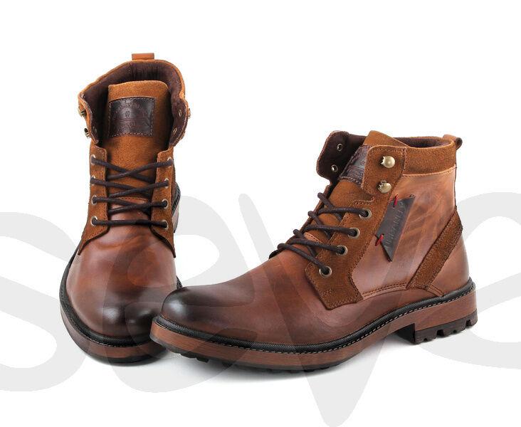 Señores de innovación de cuero botas diferentes modelos tamaño 42-43-44-45 nuevo