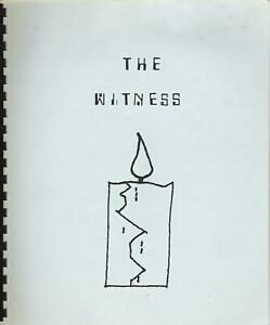 ALIEN NATION fanzine THE WITNESS