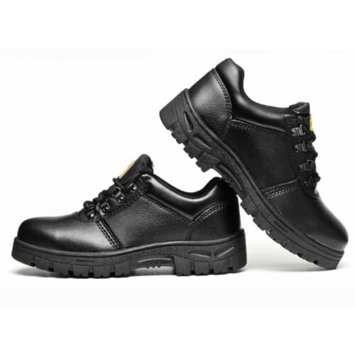Steel Toe Industrial Work Boots Safety Electrical Hazard Protective Shoes
