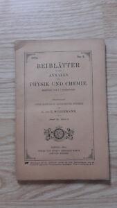 E. Wiedemann - Beiblatter Zu Den Annalen Der Physik Und Chemie - 1894 - N°2