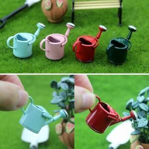1-12-Dollhouse-Watering-Can-Garden-Sprinkle-Flower-Pot-Miniature-Decor-Gift-Sale