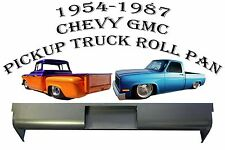 1954-1987 Chevrolet Full Size Truck Stepside Bed STEEL Roll Pan with License Box