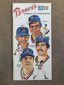 ATLANTA BRAVES MLB BASEBALL MEDIA GUIDE 1983 EX/NM