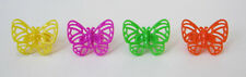 12 Butterfly Cup Cake Rings Topper Party Goody Bag Filler Favor Bakery Supply