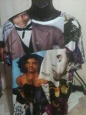 ''Prince Custom Limited Edition Design All Over Sublimated T-shirt! XL/ Large
