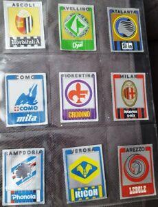 Scudetto-figurina-badge-Panini-CALCIATORI-1986-87-MILAN-N-181-CON-VELINA-NEW