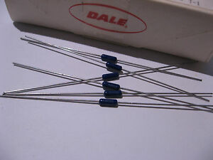 Box-of-100-Dale-Vishay-ERL07-Resistor-Metal-Film-560-Ohm-RLR07C5600GS-NOS