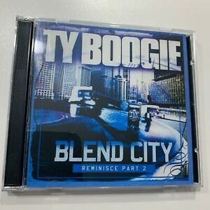 Details about DJ TY BOOGIE Blend City Reminisce Pt 2 Old School Hip Hop  Blends Mixtape Mix CD