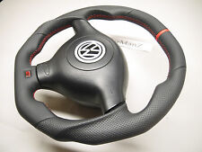 VW Golf 4 MK4 3BG Passat B5 Bora R32 GTI flat top, bottom & sides steering wheel