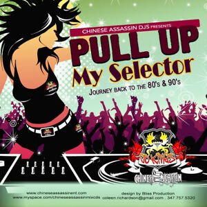 Chinese-Assassin-Djs-Pull-Up-My-Selector-80s-amp-90-039-s-Dancehall-Retro-Mix-CD