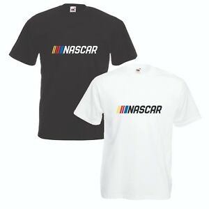 Nascar-T-Shirt-VARIOUS-SIZES-amp-COLOURS-Motor-Racing-Stock-Car-Enthusiast