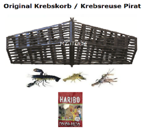 ORIG pirata cáncer cesta cáncer cestas krebsreuse krebsreusen  reuse crab trap haribo  envio rapido a ti