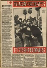 3/4/82Pgn13 Article & pictures: The Fleshtones