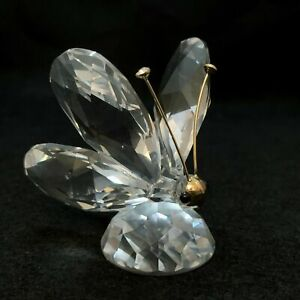 SWAROVSKI-SILVER-CRYSTAL-BUTTERFLY-MINI-WITHOUT-BOX-RETIRED-7667-NR-035-00