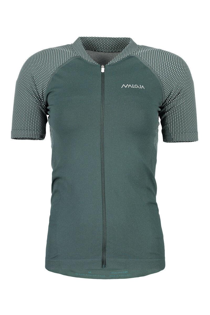 Maloja jersey  bike shirt Carlam. green elastic antibacterial  team promotions