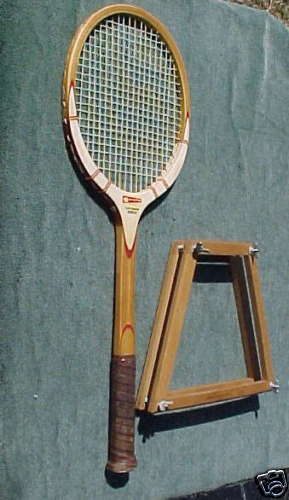 Jerry Garcia Cragin 360  U.S.A. Tennis Racquet w  Press