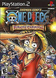 One-Piece-Pirates-039-Carnival-PS2-Kids-Game-Only-22k-PlayStation-2-Clean-Tested