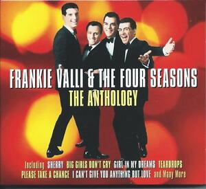 Frankie-Valli-amp-The-Four-Seasons-The-Anthology-Best-Of-Greatest-Hits-2CD