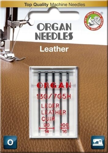 Organ Nähmaschinennadeln Flachkolben Leder