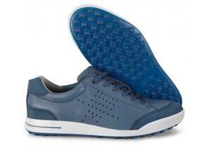order online hot products sleek Details about ECCO Men's Golf Street Retro Spikeless Golf Shoes Denim Blue  sz 41 (7-7.5)