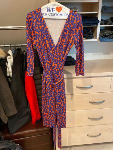 Diane Von Furstenberg Wrap Dress Size 6
