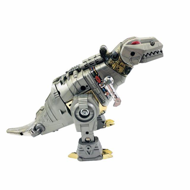 Vintage 1984 Transformers Dinosaur Grimlock Dinobot Hasbro G1 Takara