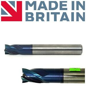 ARNO-ENGLAND-VHM-Solid-Carbide-End-Mill-10mm-Shank-Dia-10MM-TiAIN-4-Flute-No136