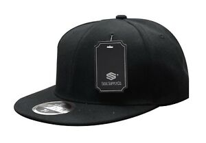 Soul-Supply-Classic-Fitted-Cap-Blank-Plain-Flat-Bill-Baseball-Hat-101